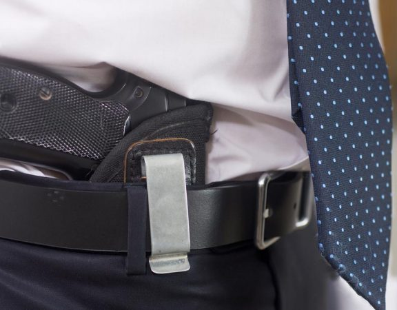 Concealed carry outdoors